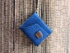Blue Leather Miniature Book Necklace