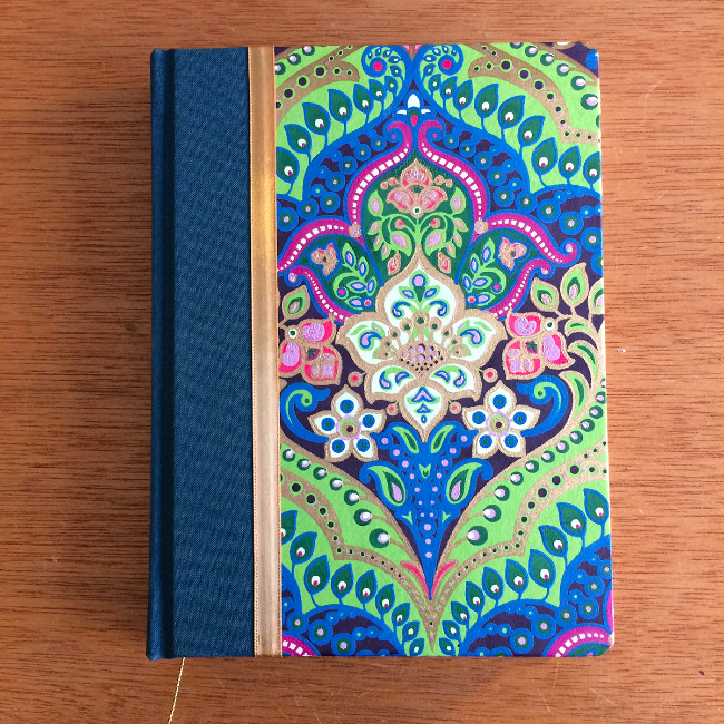 Hardcover case bound journal
