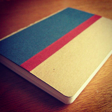 Softcover sketchbook