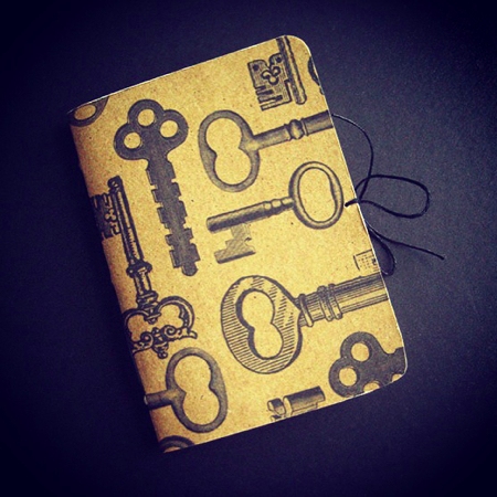 Small key notebook