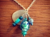 Custom beachy bead necklace
