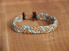 Suede braided bracelet