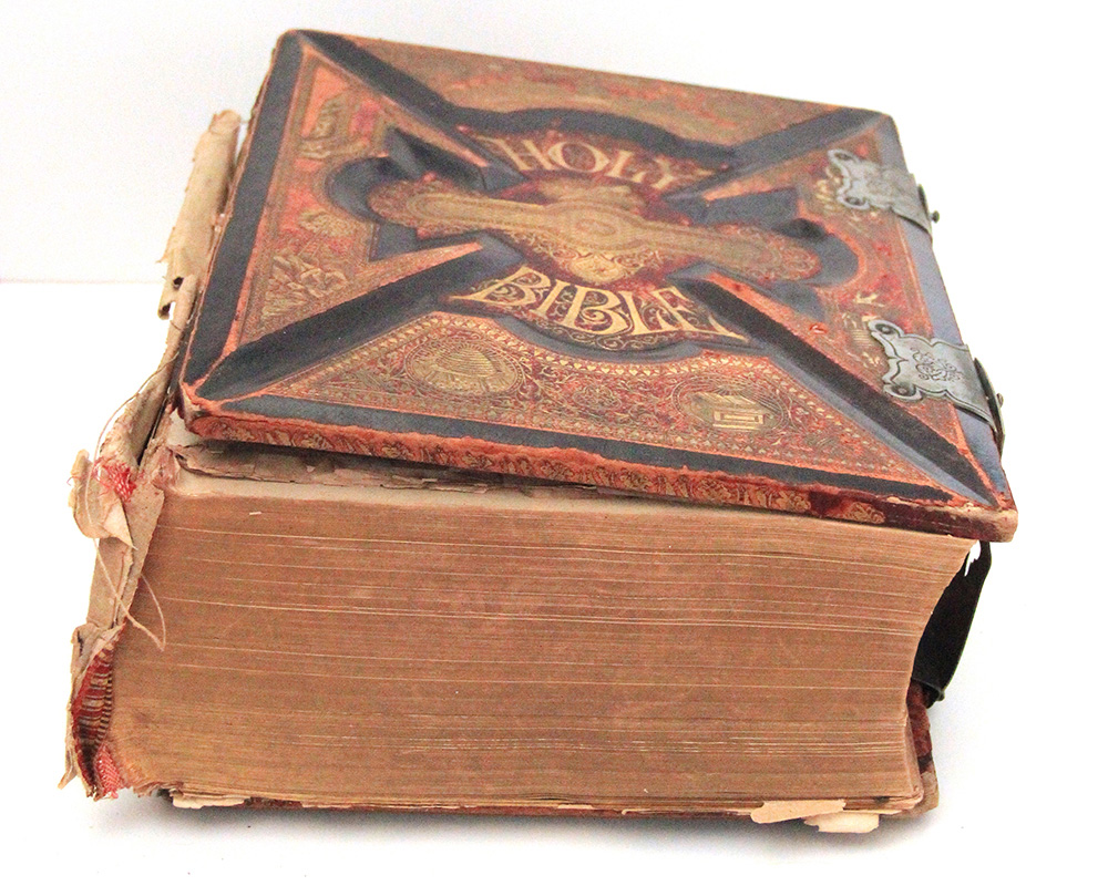 Book services in New York that can repair antique bible