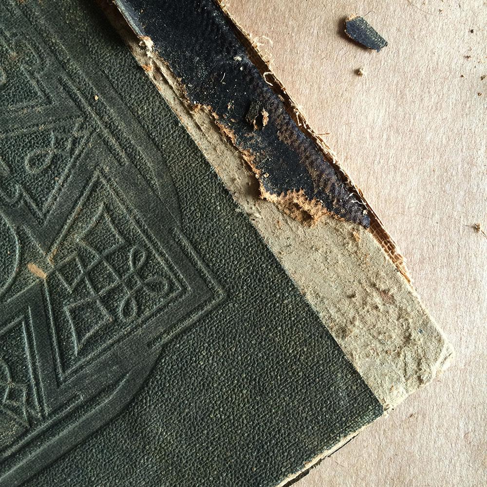book needing repair