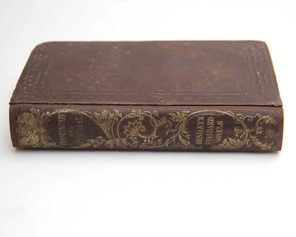 Frankenstein book binding repair