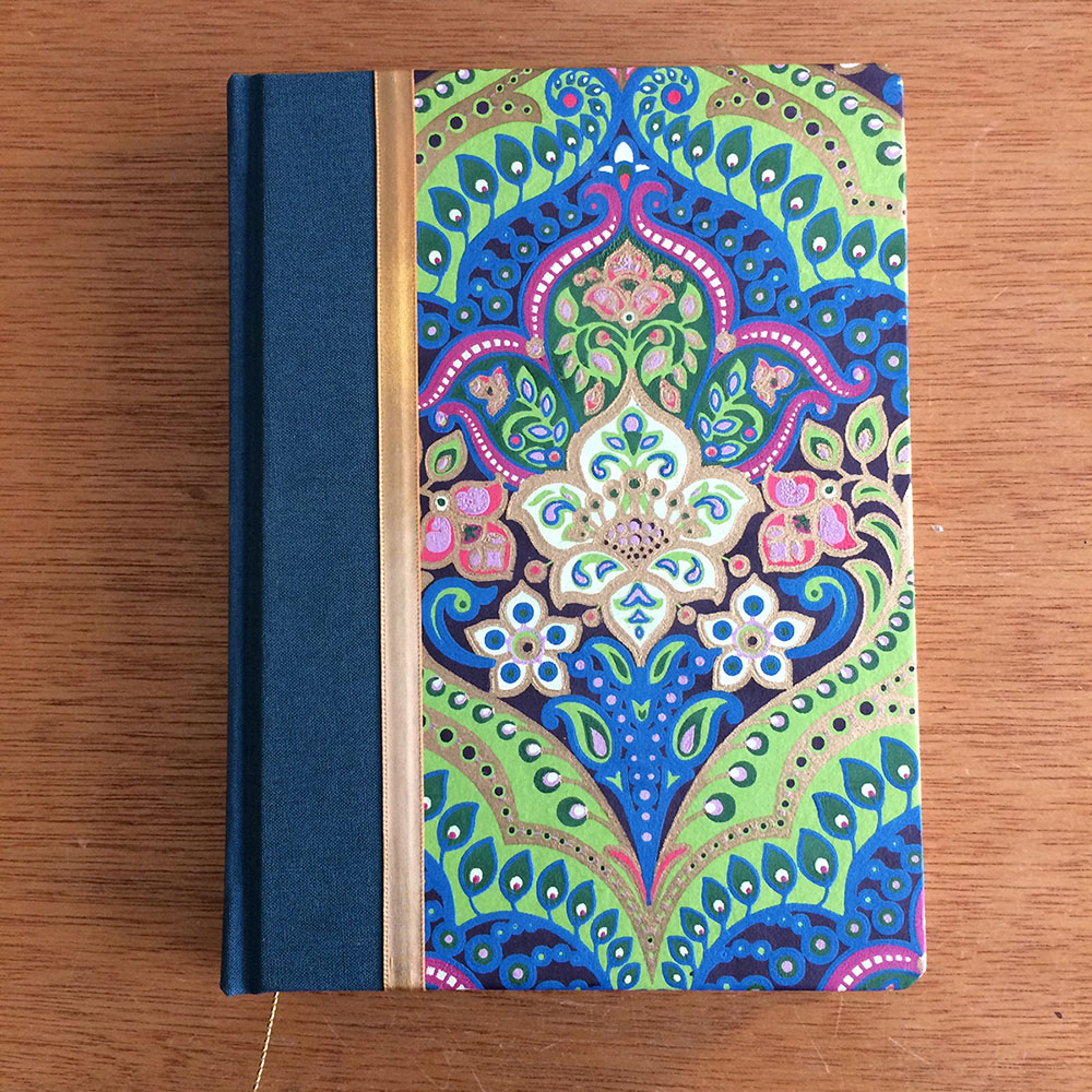 Custom handmade journals by a female artist