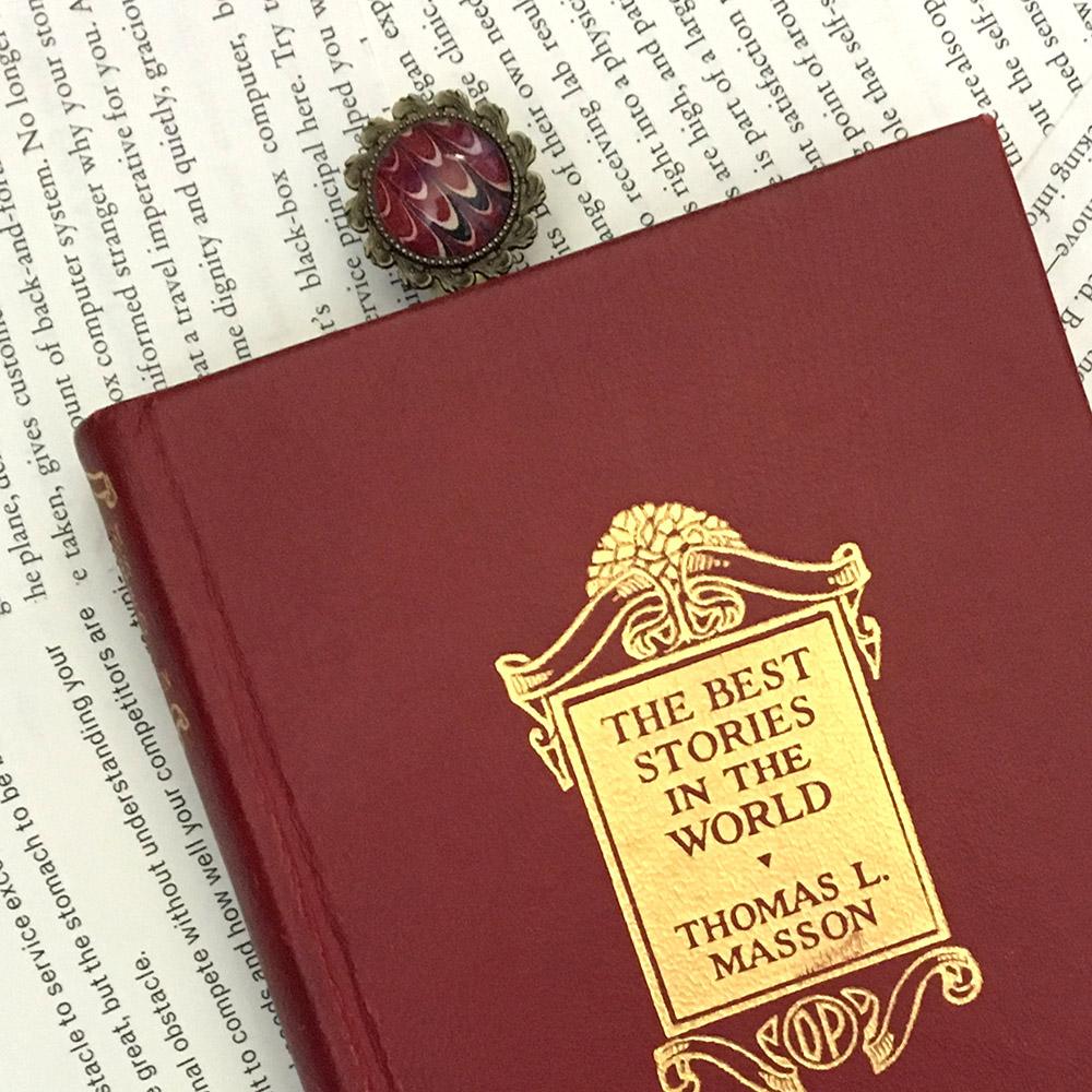 Unique bookmark handmade by Just Terrific.