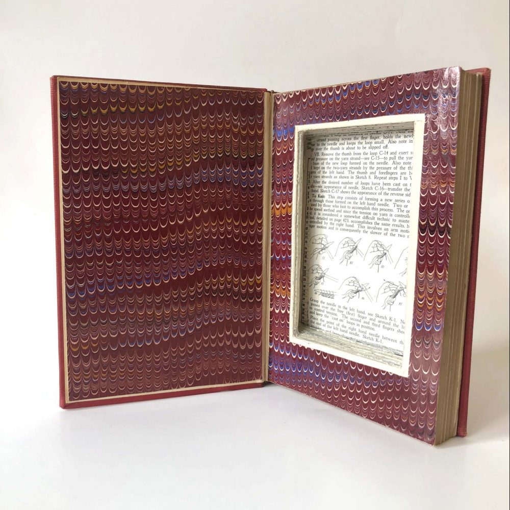 a box is created inside a book
