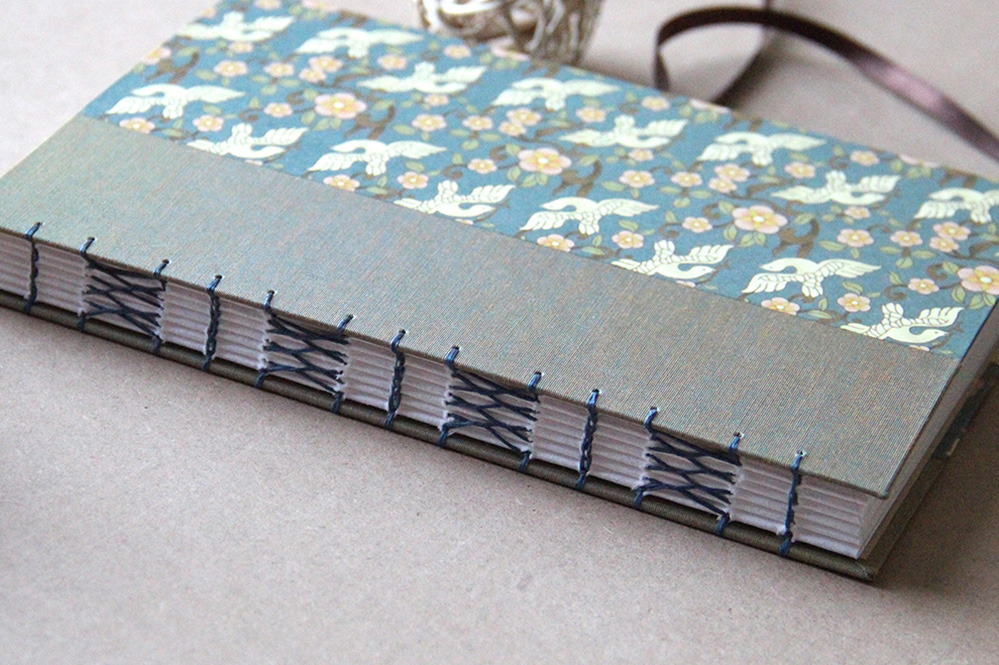 Handmade blank books that can be used as a journal - Just Terrific