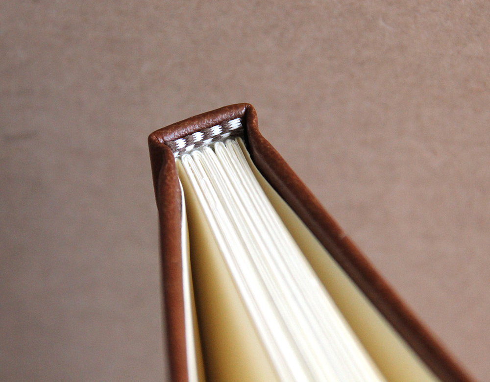 Hardcover repair for a library book