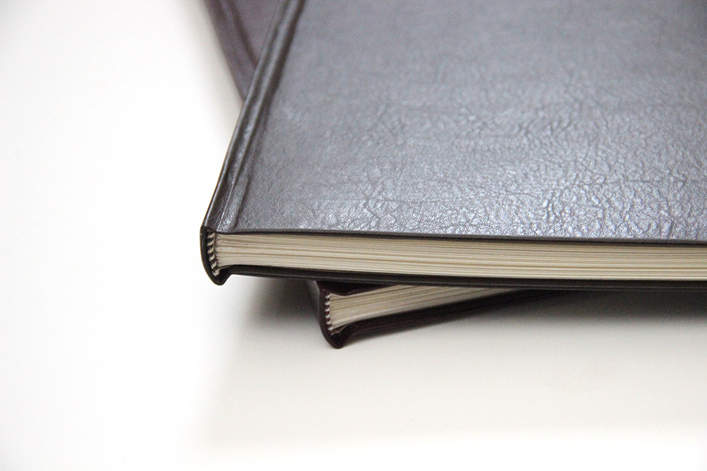 Two leather bound books